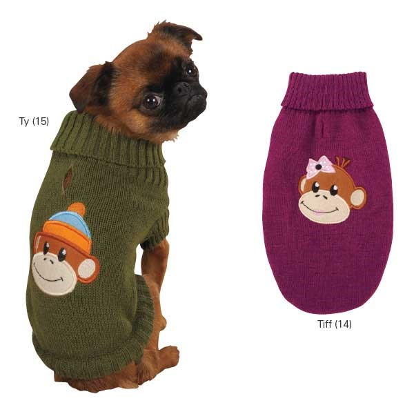Dog Sweaters -Monkey Business