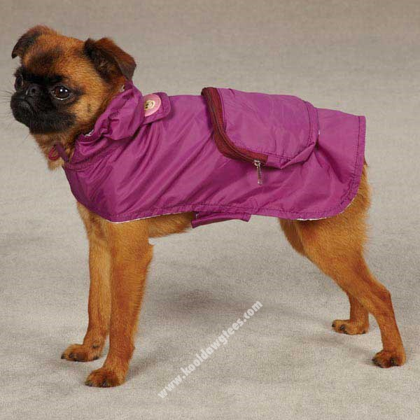 Tiff Monkey Business Dog Jacket