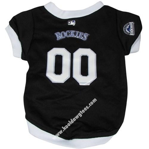 Dog Baseball Jersey - MLB Colorado Rockies