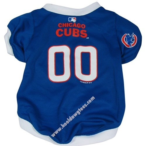 Chicago Cubs Dog Jersey - Blue