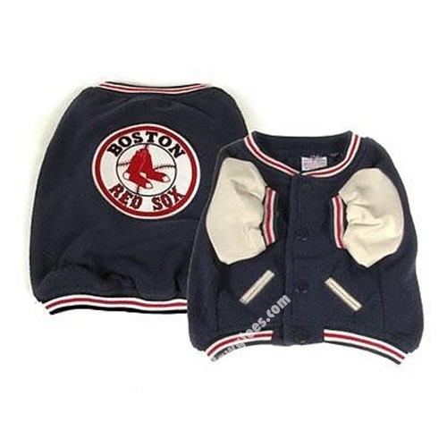 MLB Boston Red Sox Varsity Dog Baseball Jacket