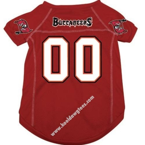 NFL Tampa Bay Buccaneers NFL Football Dog Jersey