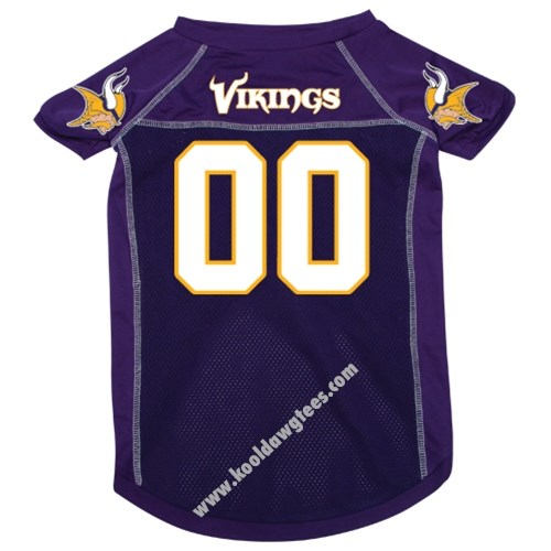 NFL Minnesota Vikings NFL Football Dog Jersey