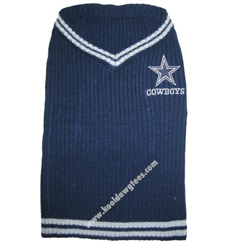 NFL Dallas Cowboys NFL Football Dog Sweater