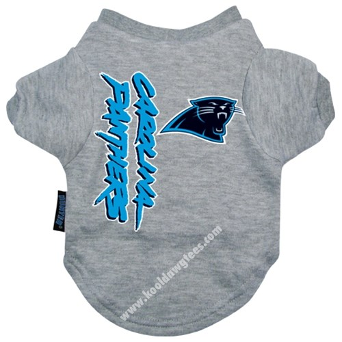 NFL Carolina Panthers NFL Football Dog T-Shirt