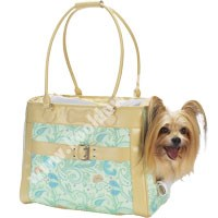 Dog Carriers -  East Side Collection Paisley Puppy