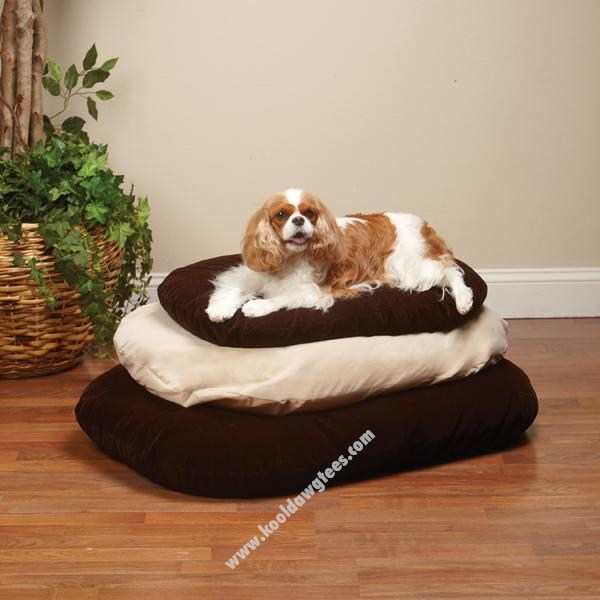 Memory Foam Oval Dog Bed