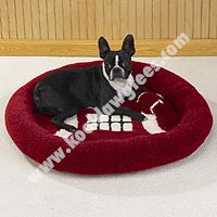 Sherpa Sports Bed w / Matching Toy 